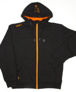 FOX BLACK ORANGE HEAVY LINED HOODY