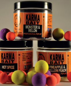 KARMA BAIT POP-UP Fluo 15mm KARMA BAIT POP-UP Fluo 12mm