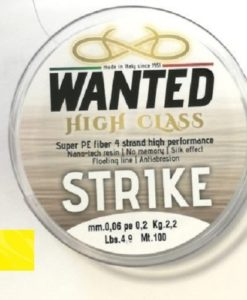 WANTED STRIKE Dyneema PE03 Giallo