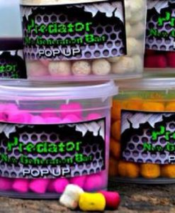 PREDATOR BAIT DUMBELL Pop-Up FLUO